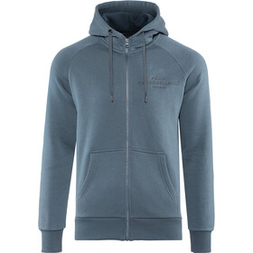 Peak Performance M's Original Zip Hood Blue Steel